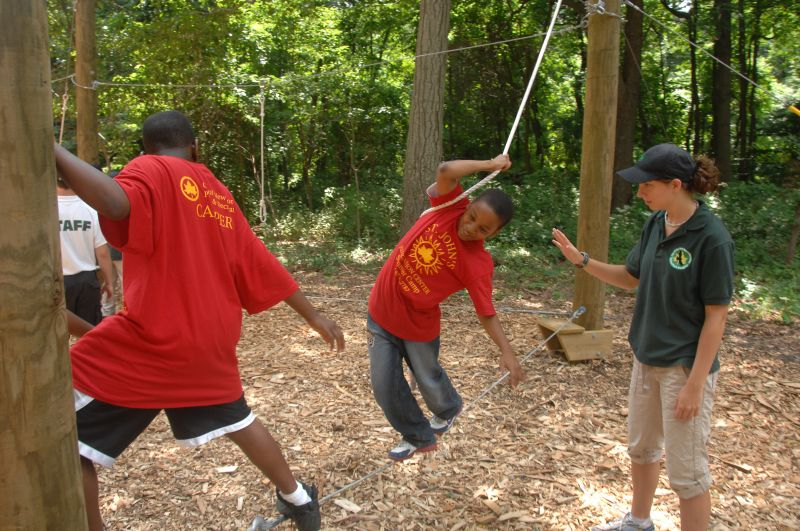Alley Pond Park Adventure Course: Free Sunday Programs at Alley Pond Park