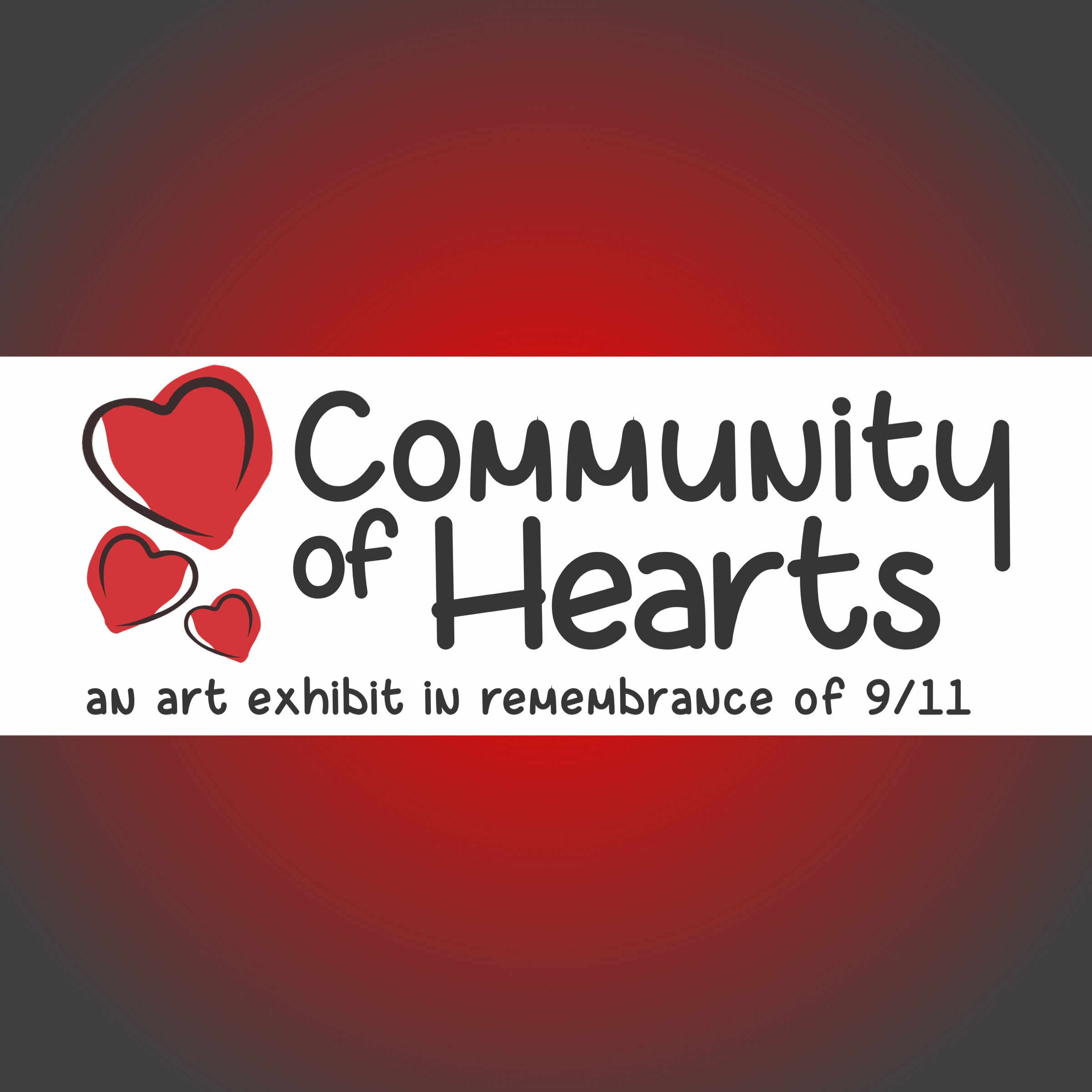 Community of Hearts: an art exhibit in remembrance of 9/11 at Northport-East Northport Public Library