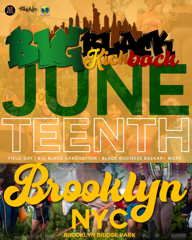 Big Black Kickback 2021 at Brooklyn Bridge Park, Pier 3