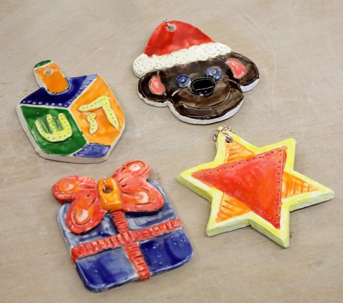 IN PERSON Youth Ornament Making Workshop at Clay Art Center