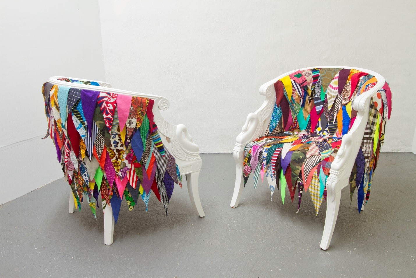 The Chair Show at ArtsWestchester Gallery