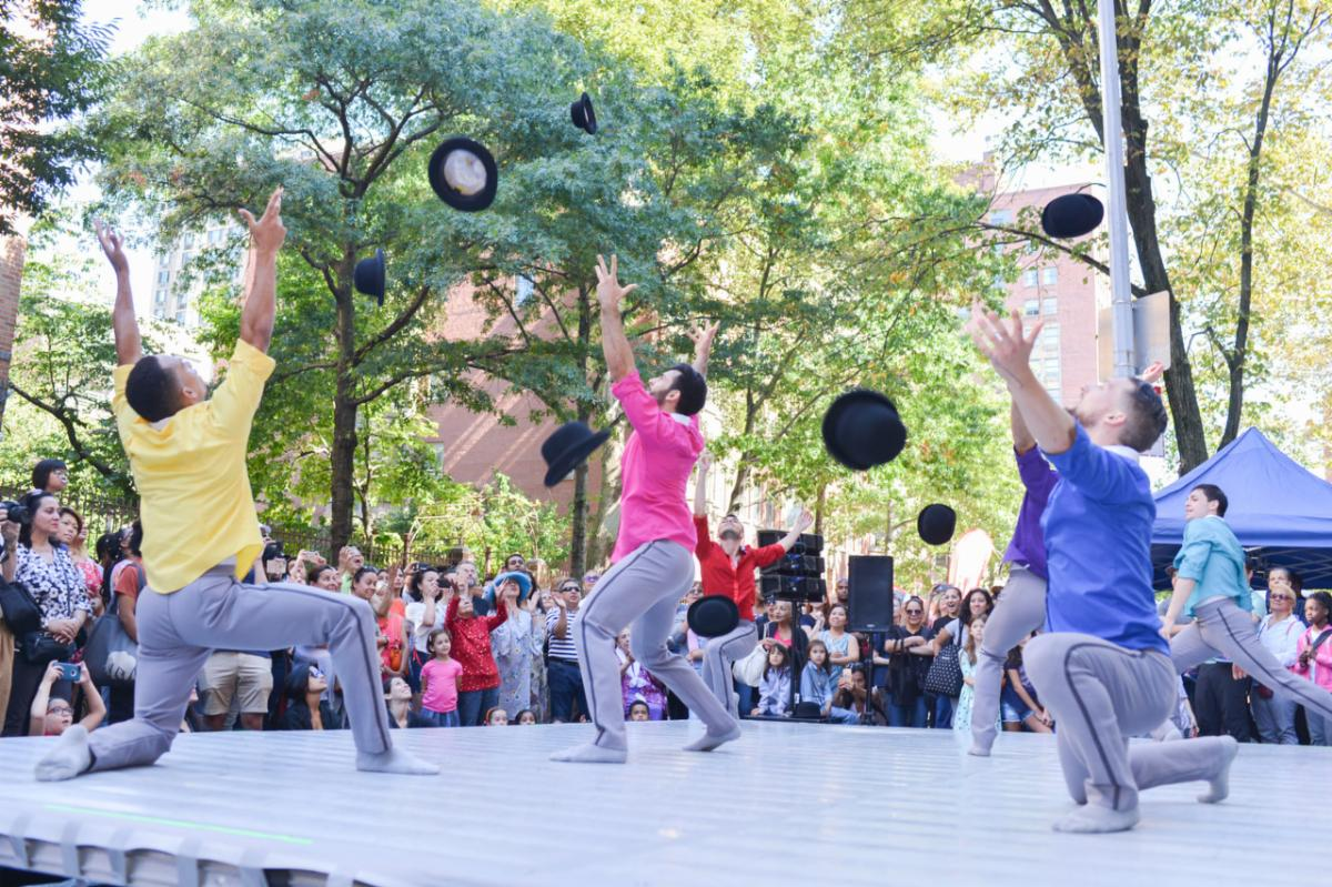 Hispanic Heritage Month with A La Calle Block Party at Ballet Hispánico
