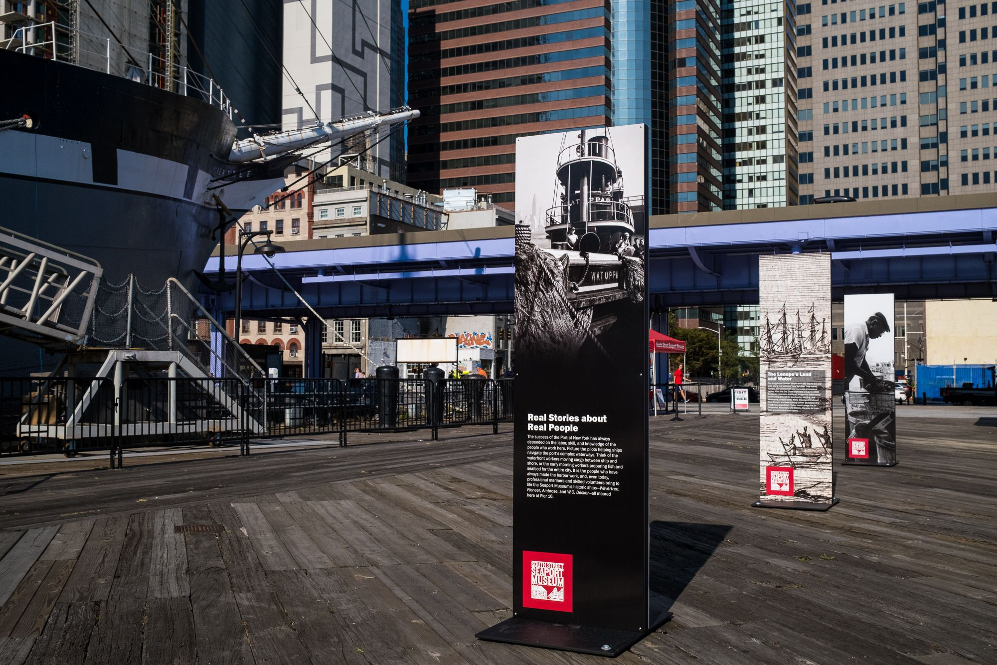 FREE Entry to 1885 Tall Ship Wavertree, FREE Outdoor Exhibition on Pier 16 at South Street Seaport Museum