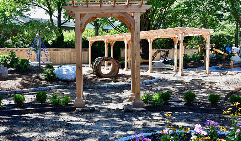 The Waldorf School in Garden City Debuts New Playground This School Year