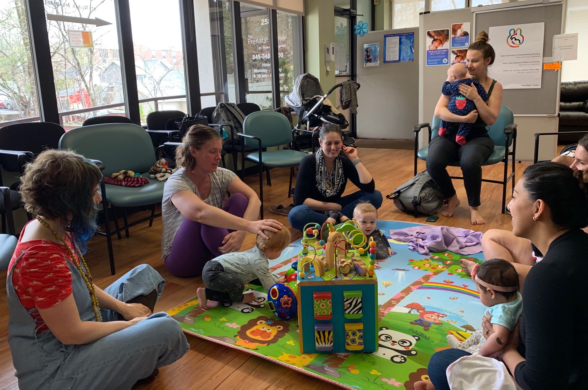 Montefiore Nyack Hospital New Moms Circle Support Group Series Kicks Off This Month