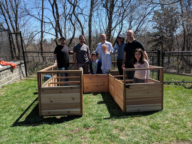 Temple Sholom Selma Maisel Nursery School Grows STEAM Program with New Garden