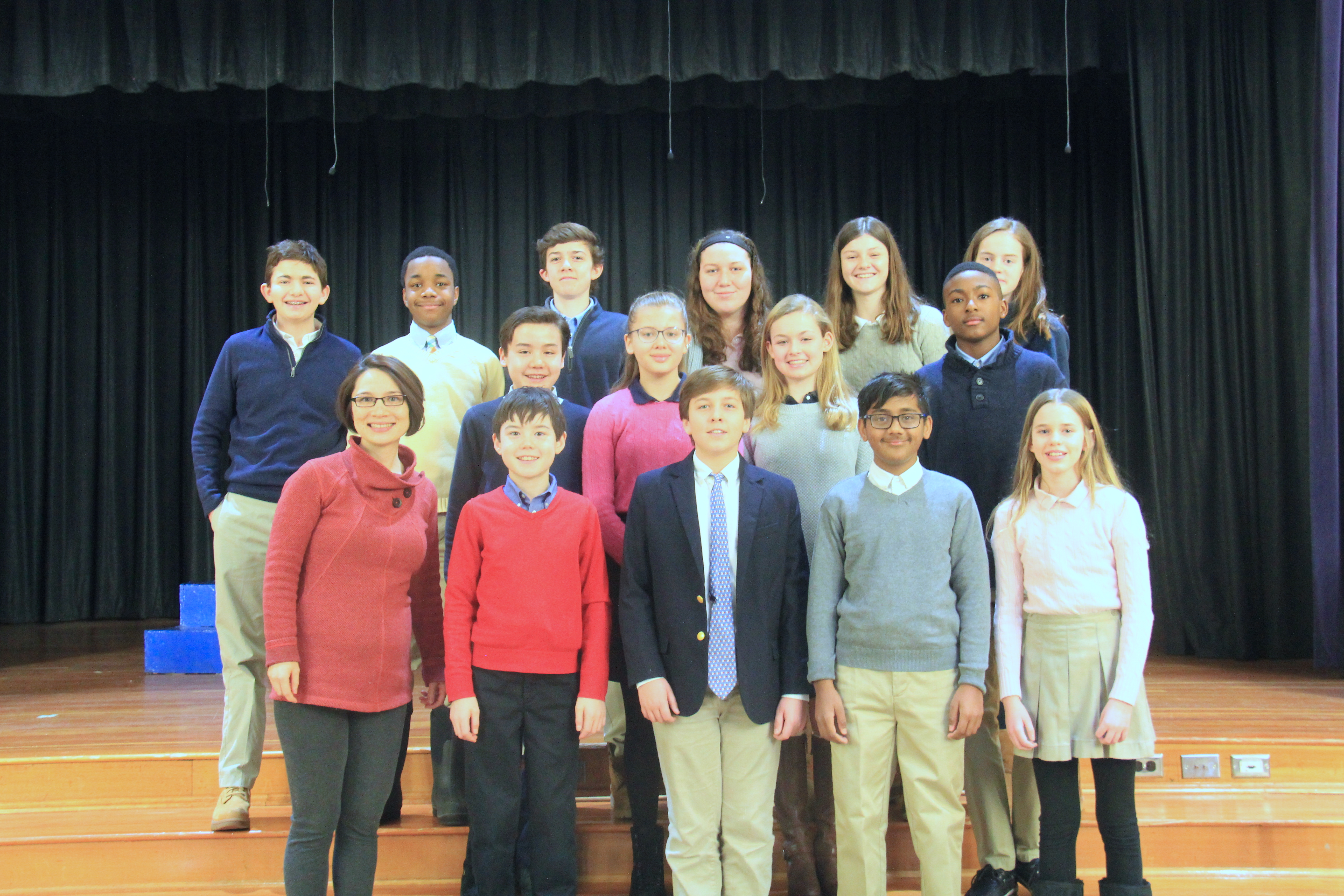 16 Green Vale School Students Participate in All-County Music Festival