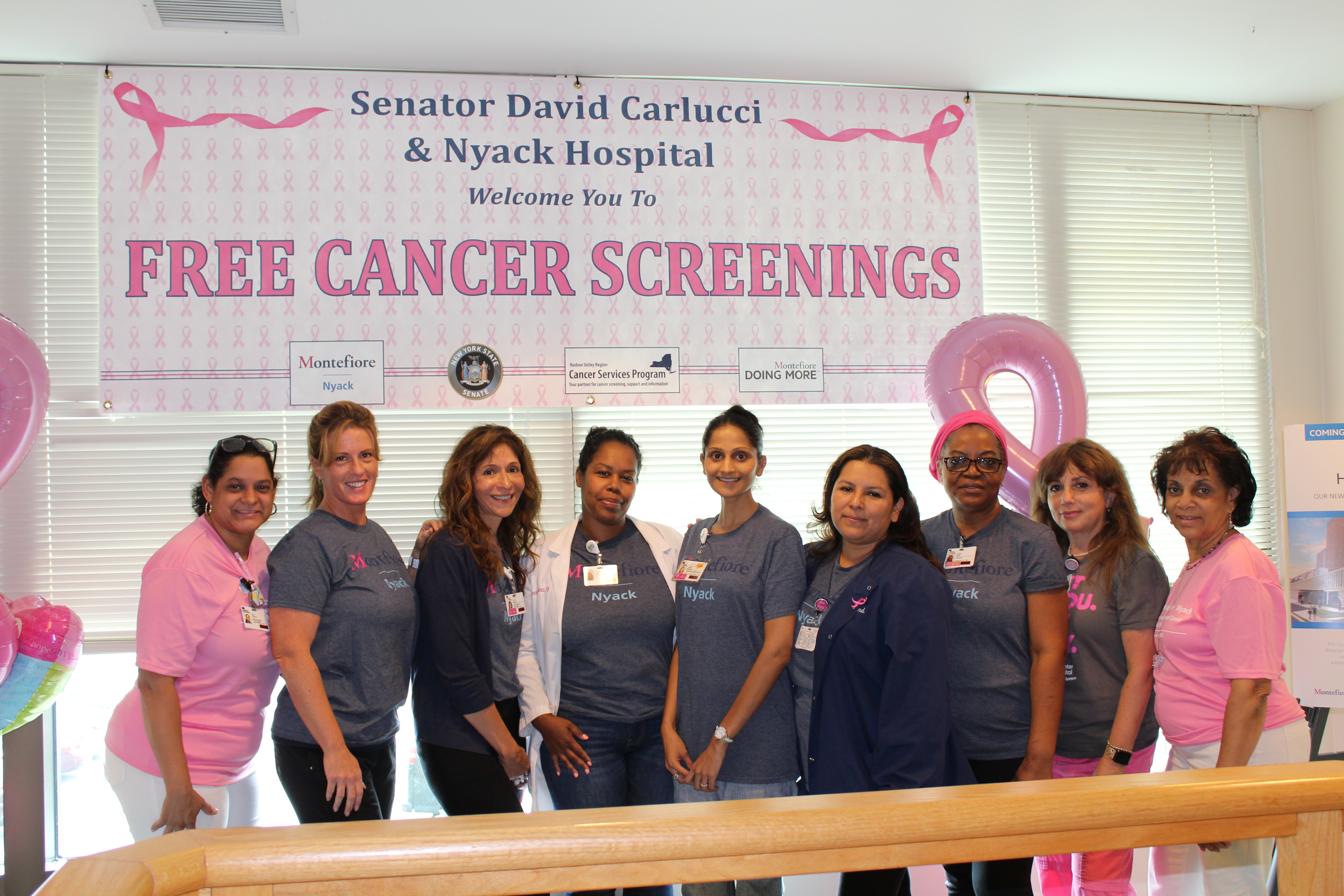 Montefiore Nyack Hospital Offers Free Breast and Cervical Cancer Screenings For Underinsured or Uninsured Women in Rockland County