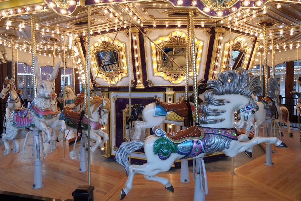 Experience the History of The Grand Carousel at The East Wind Shoppes in Wading River