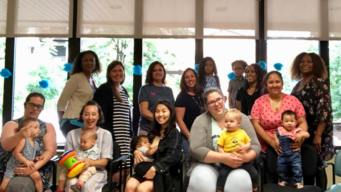 The Prenatal Center at Montefiore Nyack Hospital Recognizes World Breastfeeding Week by Hosting Global 'Big Latch On' Event