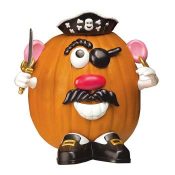 mr potato head pumpkin