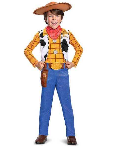 toy story woody Halloween costume for kids