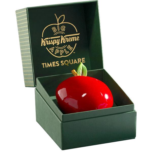 krispy kreme's big apple doughnut