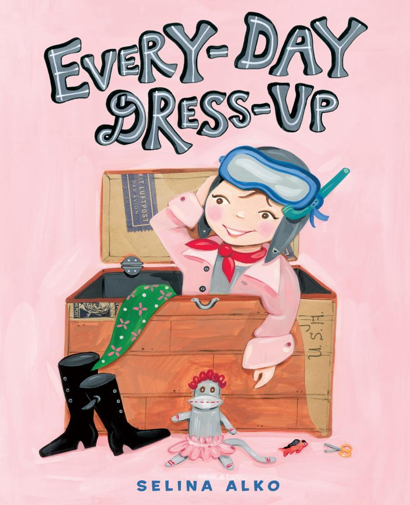 every-day dress-up book cover