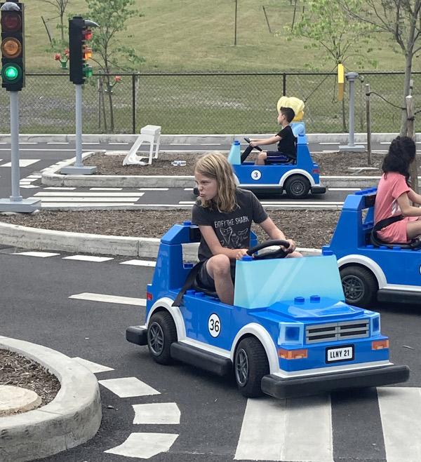 Driving School at LEGOLAND NY Resort in Goshen NY
