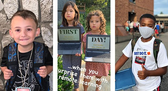 nymp's first day of school 2020 contest winners