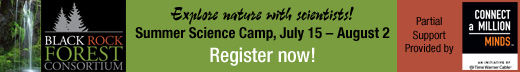Explore nature with scientists at Summer Science Camp.