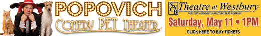 Catch the Popovich Comedy Pet Theater!