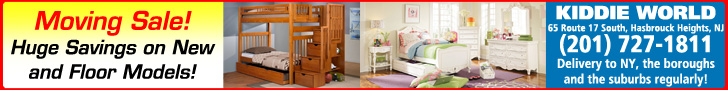 Kiddie World furniture moving sale! Score huge savings.