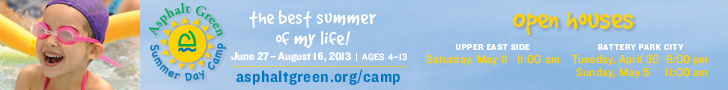 Visit Asphalt Green Summer Day Camp's open houses.