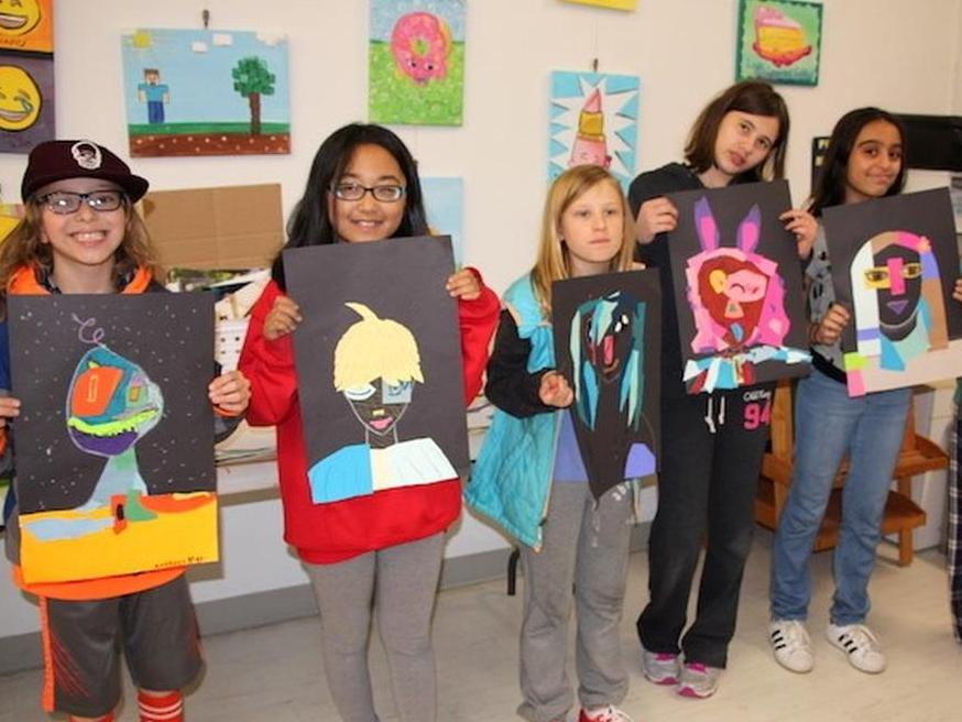 Tweens Art Classes