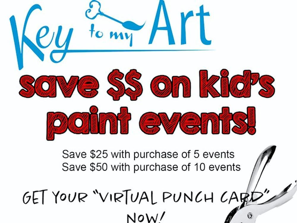 Special Events Punch Card