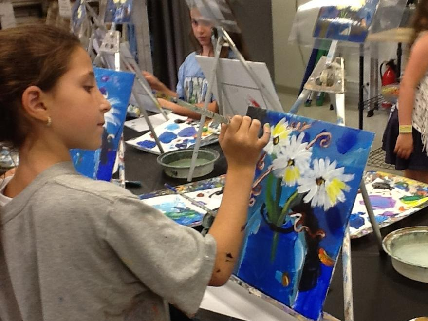 SUMMER ART WORKSHOPS for Ages 6 – 12yrs old